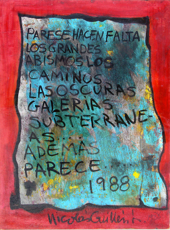 Cuban Art Nicolás Guillén